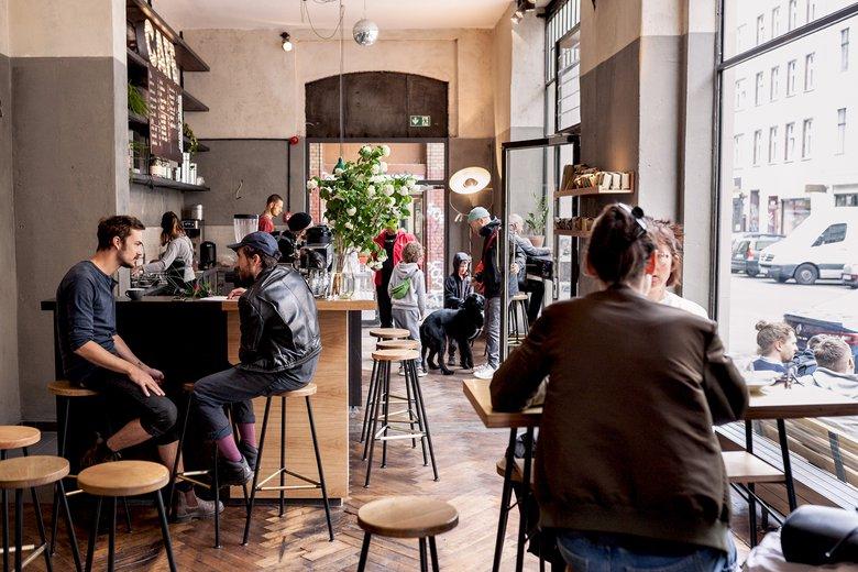 EIn Nachbarschaftscafé mit wirklich gutem Kaffee. Foto: Markthalle Neun