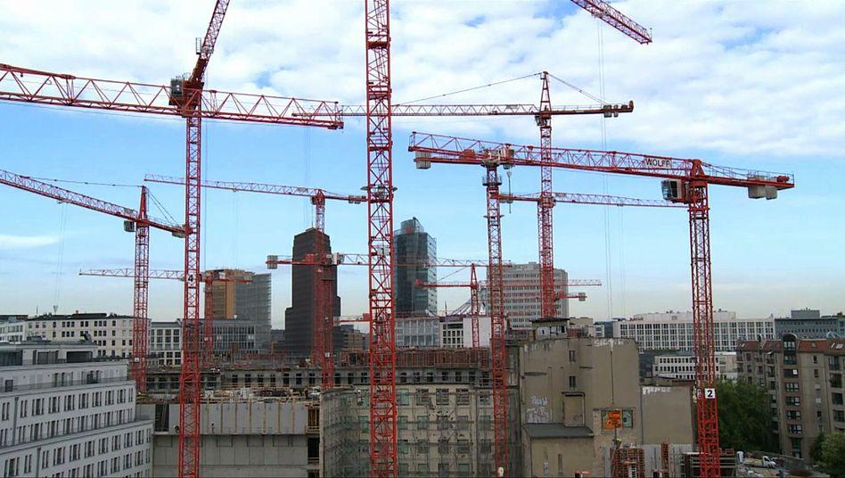 Wohnungsmarkt in Berlin - Bauen, bauen, bauen. Bist der Wohnungsmarkt in Berlin explodiert. Foto: Andreas Wilcke