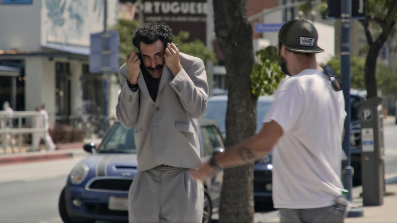Die klischeebeladene Figur aus Zentralasien hat ausgedient: Ein realer Donald Trump hat einen fiktiven Borat überflüssig gemacht. Foto: Courtesy of Amazon Studios