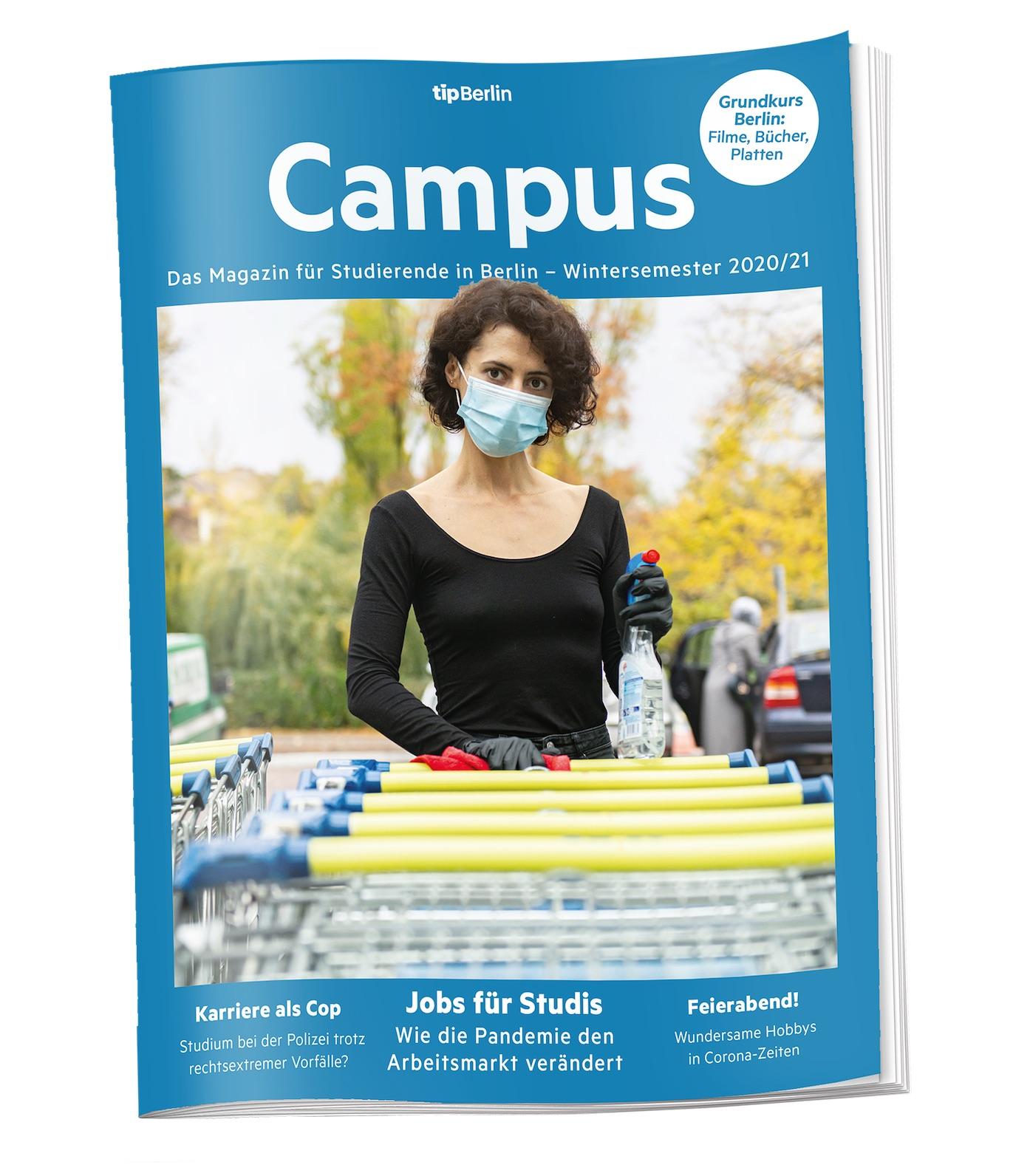 Ab ins neue Semester mit der neuen Ausgabe von Campus.