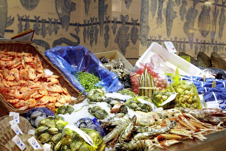 Das Frischeparadies hat eine gewaltige Auswahl. Frisches gibt es in zwei Fischläden in Berlin. Foto: Frischeparadies