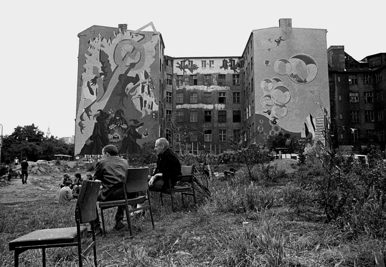 Das Kukuck, Kunst- und Kulturzentrum Kreuzberg war ein besetztes Haus, in dem zahlreiche Veranstaltungen statt fanden. Foto: Imago Images/Peter Homann