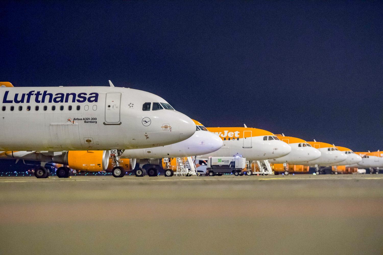 Lufthansa und Easyjet sind die Platzhirsche am BER. Billigflieger Ryanair startet nicht am Terminal 1, sondern am ehemaligen Flughafen Schönefeld, dem heutigen Terminal 5. Foto: Imago Images/Ditsch