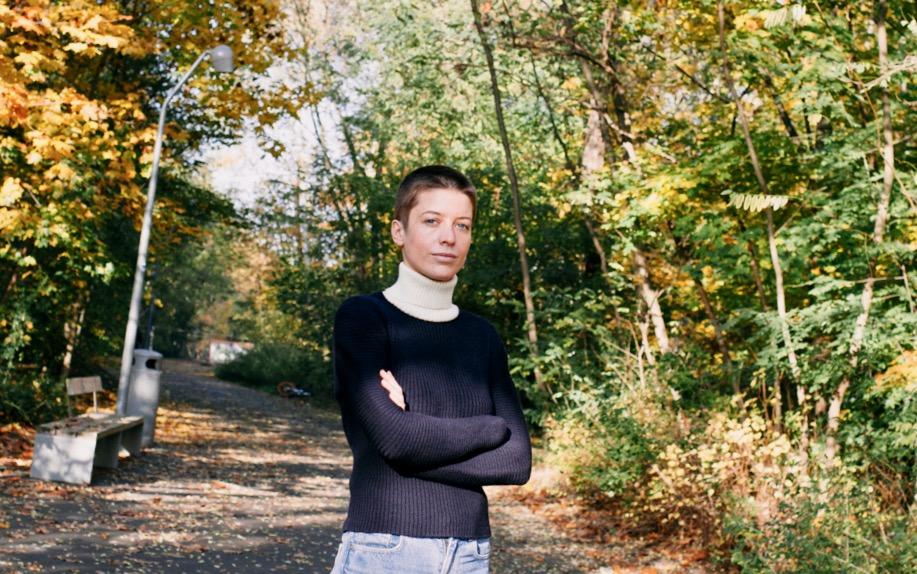 Emilia von Senger ist sich ihrer Sache sicher - auch in unsicheren Zeiten. Foto: Marlen Müller