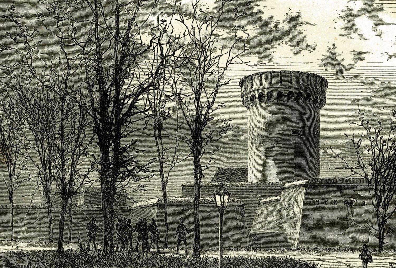 Gefängnis Berlin: Zitadelle Spandau um 1892. Foto: Imago/Imagebroker