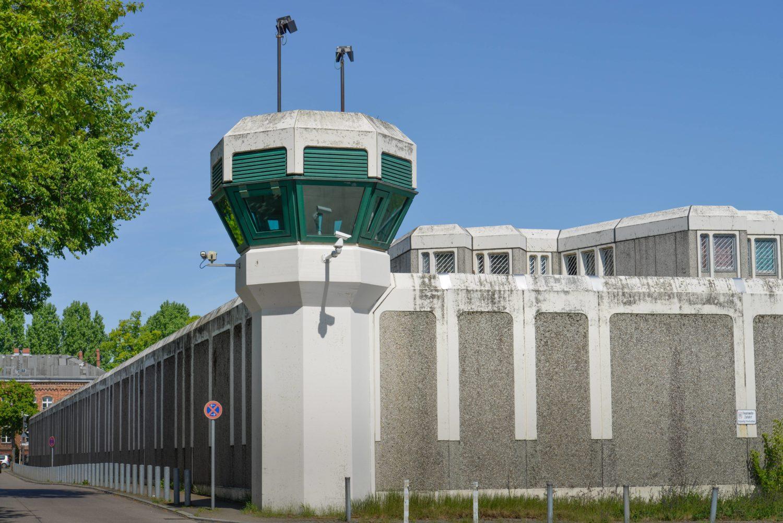 Gefängnis Berlin: Justizvollzugsanstalt Plötzensee, Friedrich-Olbricht-Damm, Charlottenburg. Foto: Imago/Joko