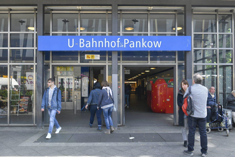 In Pankow beginnt die U-Bahnlinie U2 ihren Weg quer durch die Stadt.
