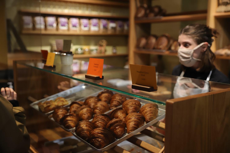 Croissants bei Sofi Bakery in Mitte Berlin
