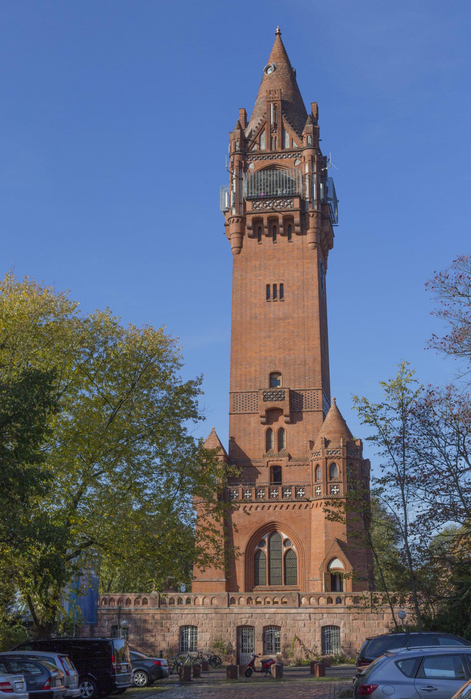 Berliner Berge: Der Grunewaldturm auf dem Karlsberg. Foto: Imago Images/Shotshop