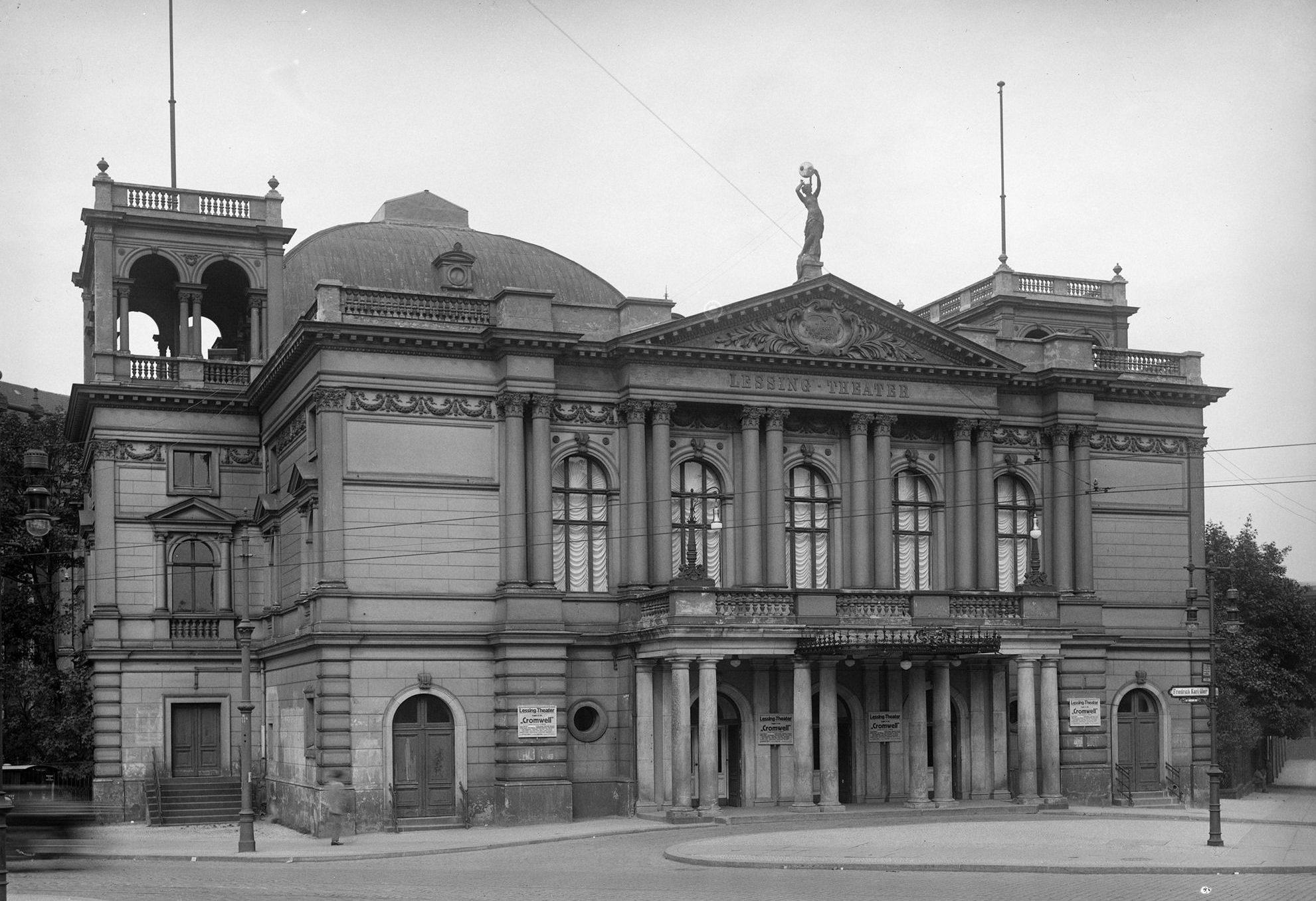 Das Lessingtheater um 1900, Foto: Gemeinfrei