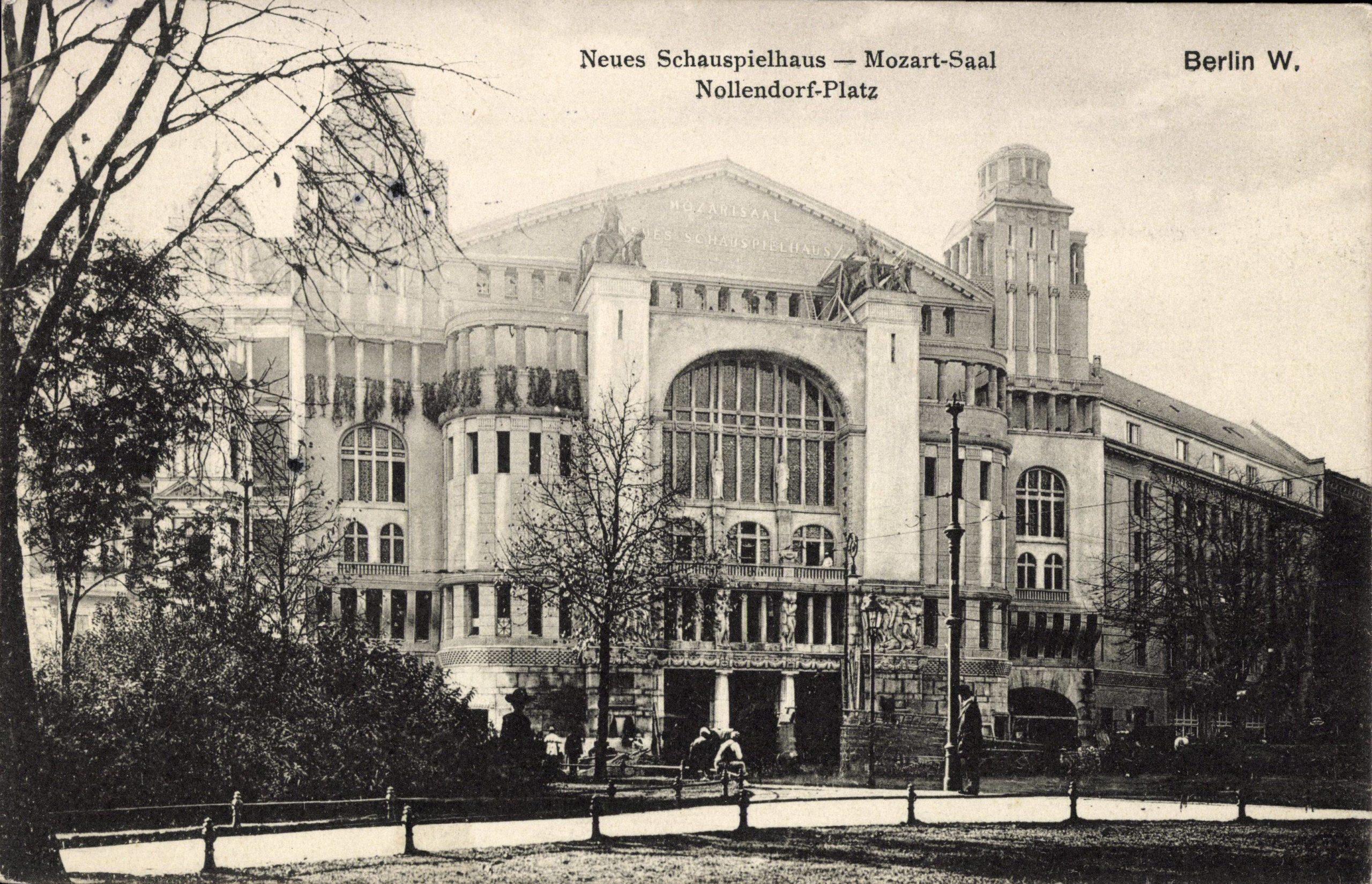 Historische Theater in Berlin: Neues Schauspielhaus am Nollendorfplatz in Schöneberg. Foto: Imago/Arkivi