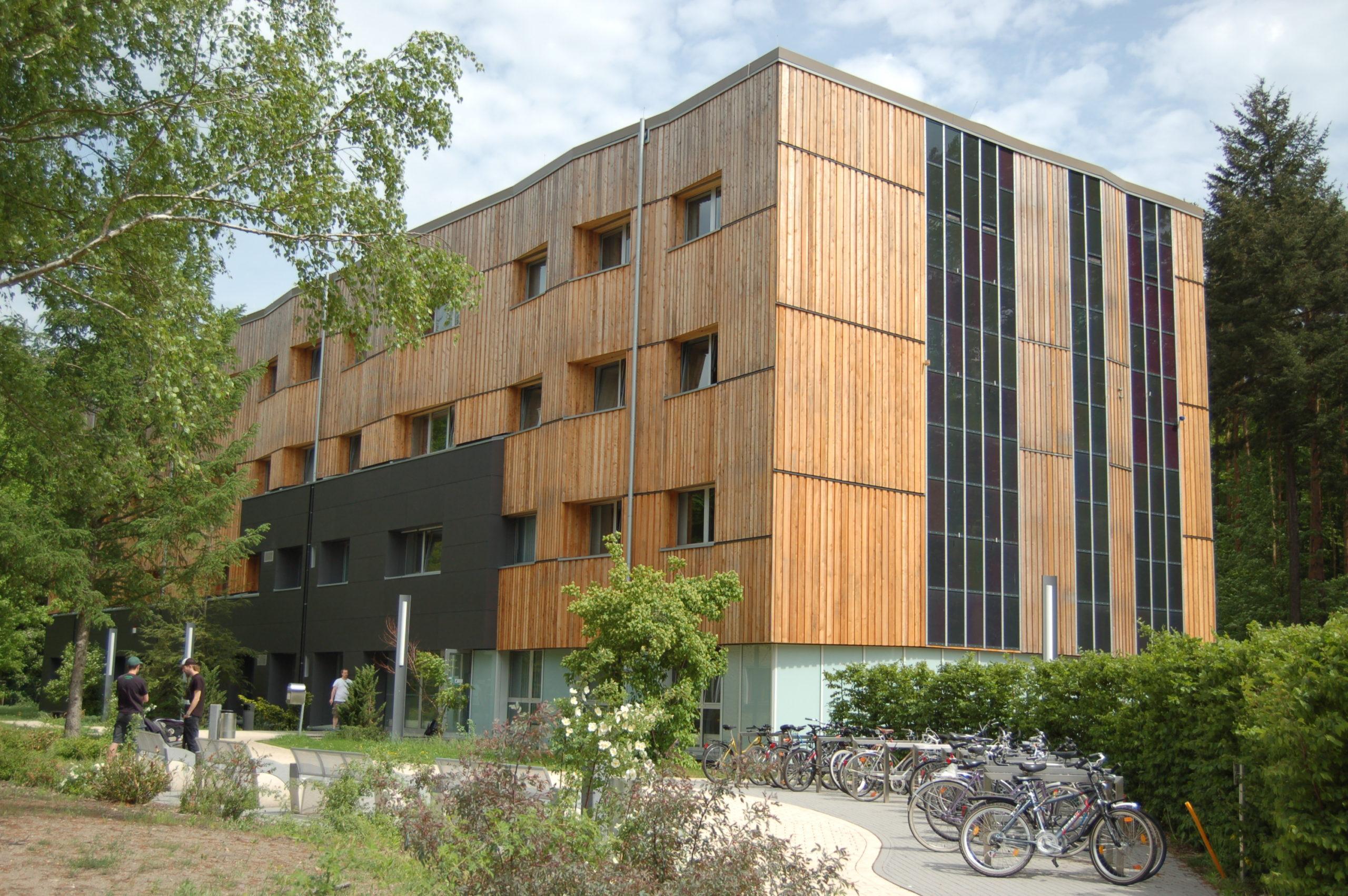 Der Fachbereich für Wald un Umwelt der Hochschule für nachhaltige Entwicklung in Eberswalde. Foto: HNE Eberswalde