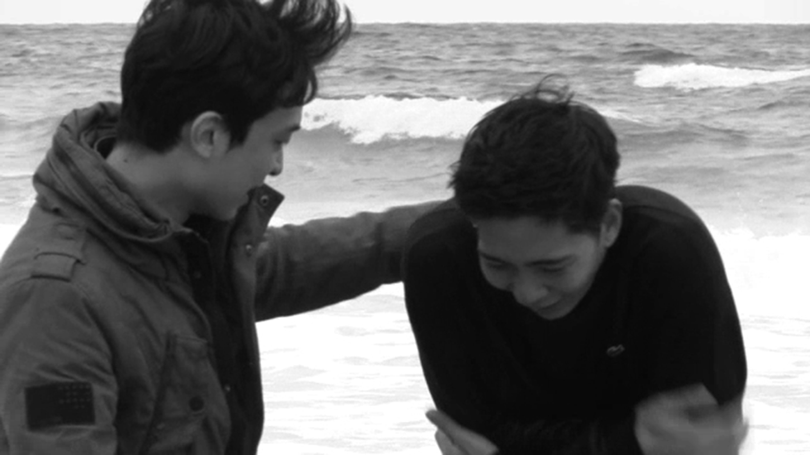 Vertrautes Versatzstück beim koreanischen Meister: der Strand. Foto: Jeonwonsa Film Co.Production