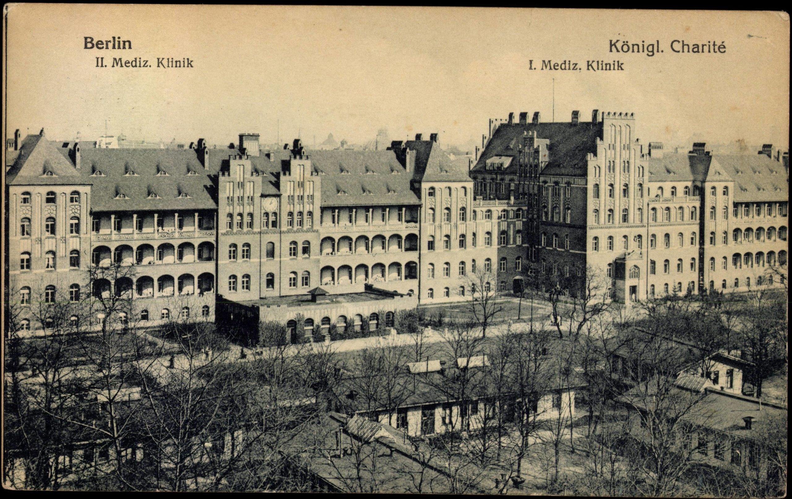 Die Charité-Klinik im Jahr 1928. Foto: Imago/Arkivi