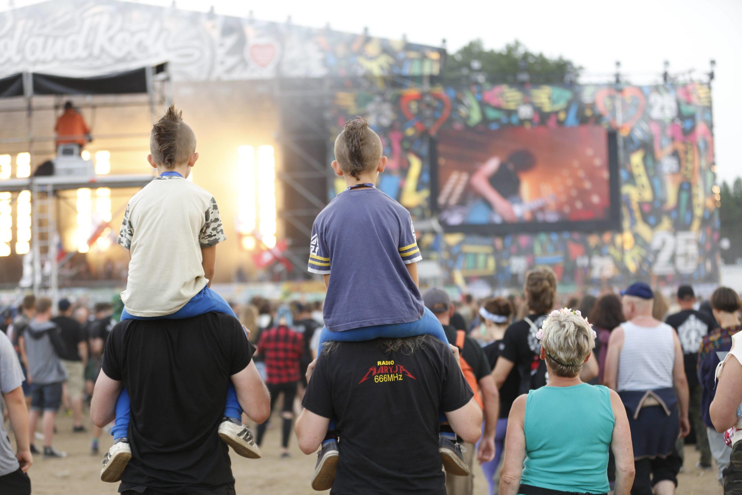 Ein Festival für die ganze Rocker-Familie: Das Pol'and'Roll an der deutsch-polnischen Grenze. Foto: Imago Images/Pacific Press Agency