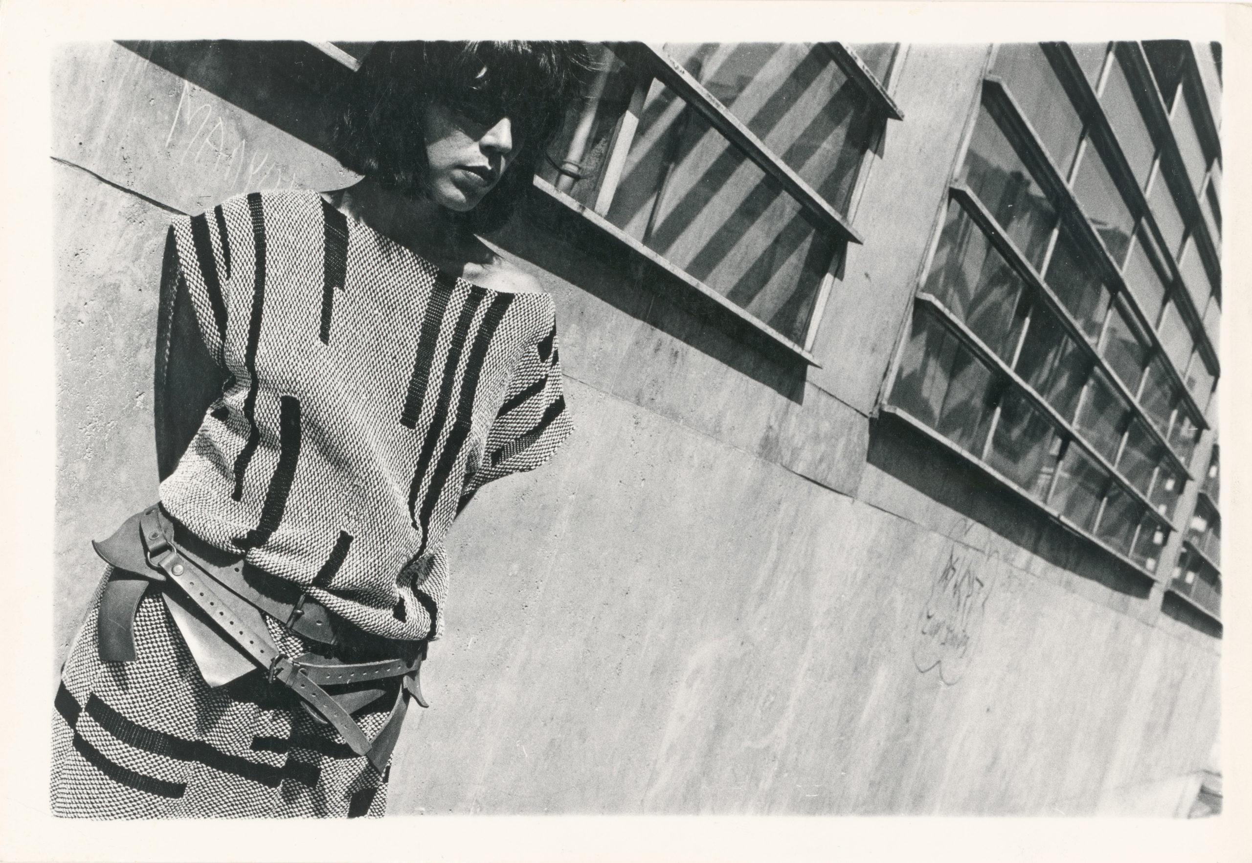 Silke Grossmann, Bild für Claudia Skoda, in Zusammenarbeit mit Cynthia Beatt, 1983. Foto: Silke Grossmann/SMB/Kunstbibliothek/Dietmar Katz