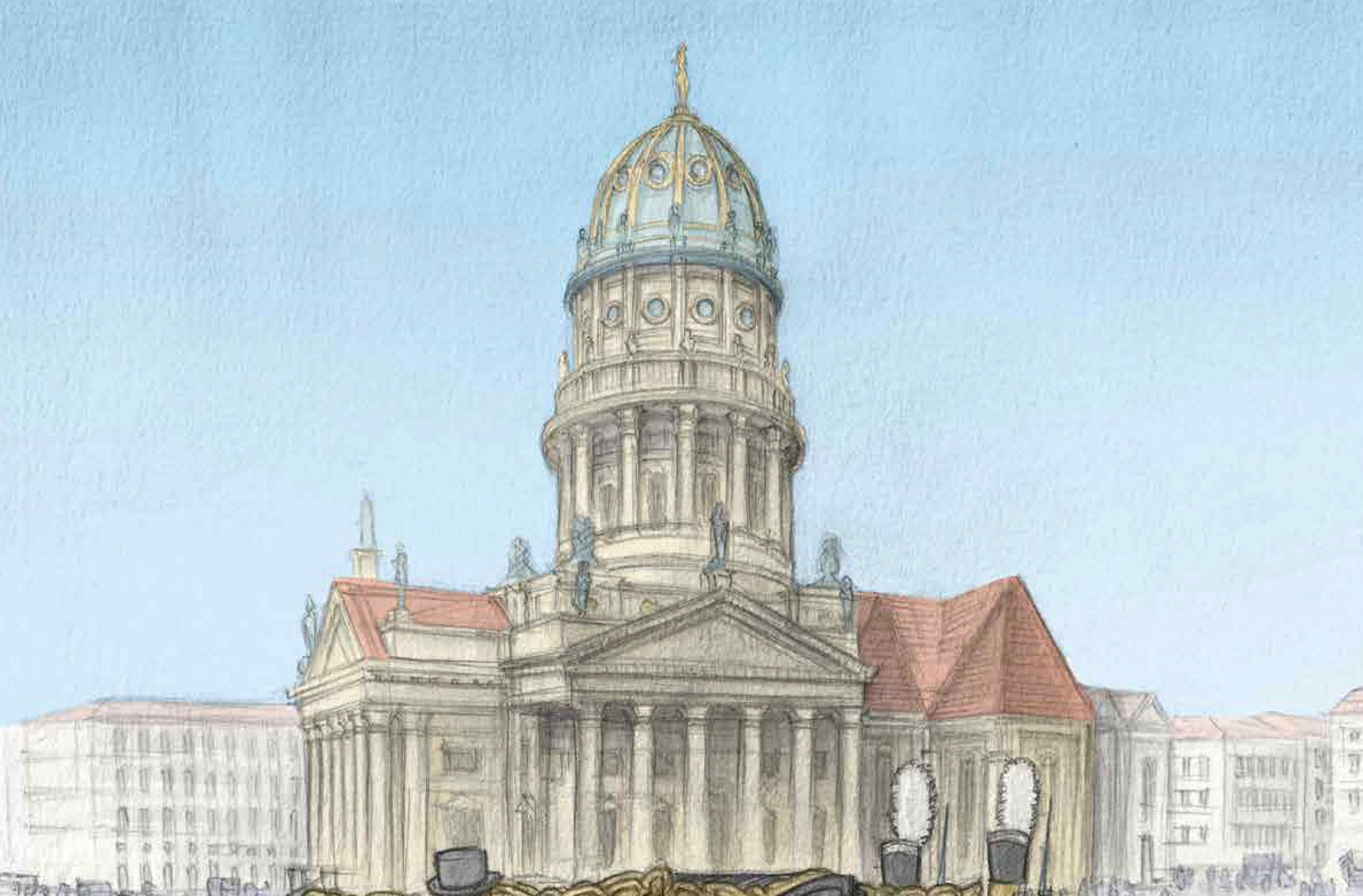 200 Jahre Konzerthaus: Wir schreiben den 26. Mai 1821: Das Schauspielhaus wird eröffnet. Foto: Felix Pestemer/Avant