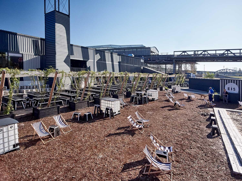 BRLO Biergarten Außengastronomie öffnet in Berlin