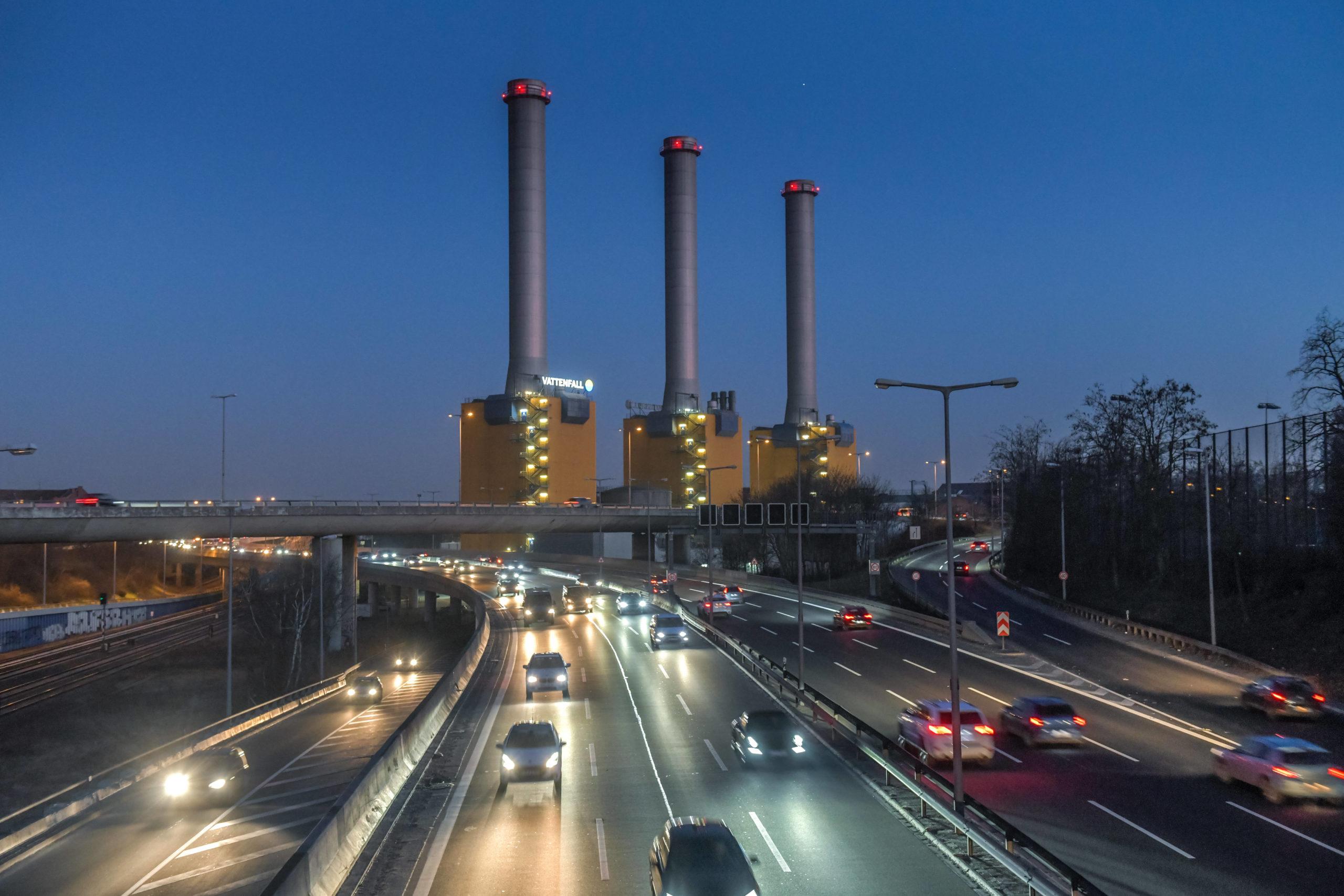 Heizkraftwerk Wilmersdorf: Die letzten Wochen des heizkraftwerks Wilmersdorf, März 2021. Foto: Imago/Joko
