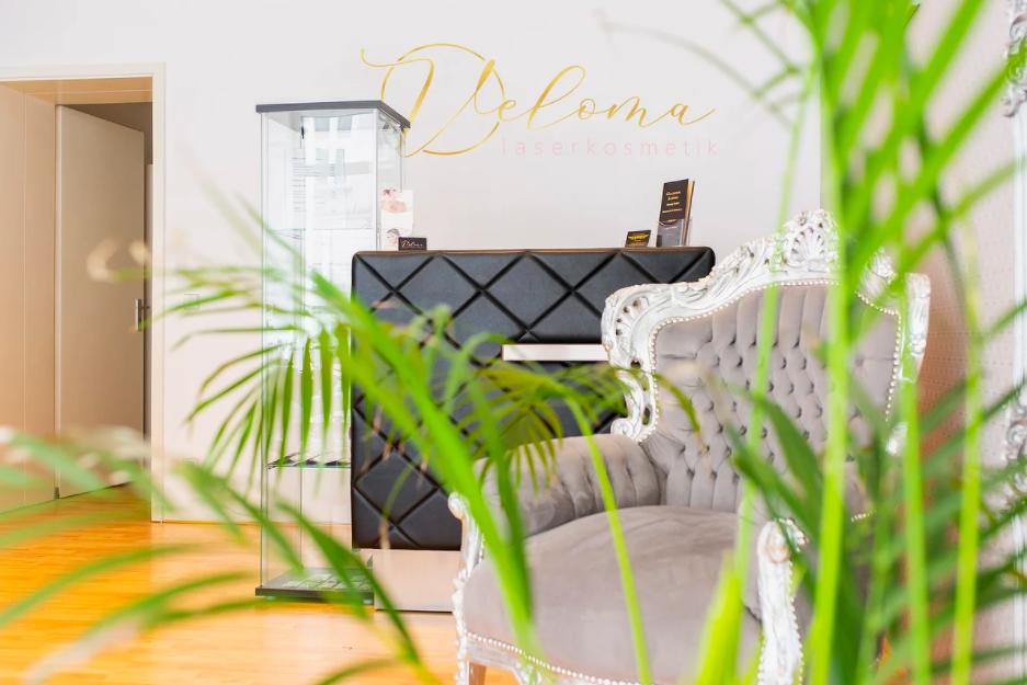 Gemütlich, hell und einladend ist das Kosmetikstudio Veloma in Friedrichshain. Hier werden Laserkosmetik-Behandlungen angeboten. Foto: Veloma Berlin