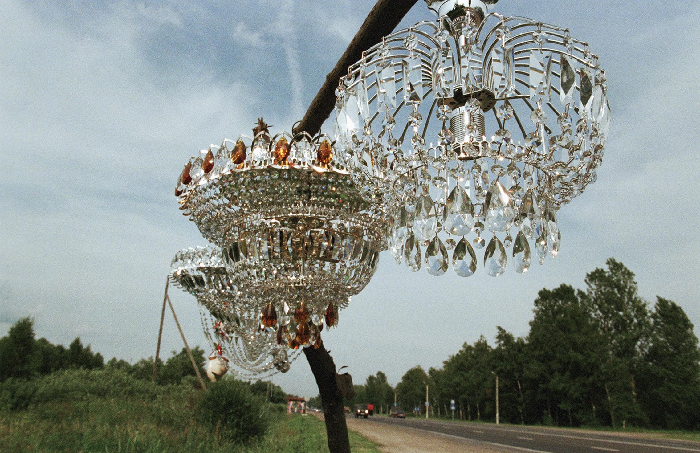 """Werkansicht von Olga Chernyshevas """"On the Sidelines"""" aus dem Jahr 2010, zu sehen in der Ausstellung """"Diversity United""""."""