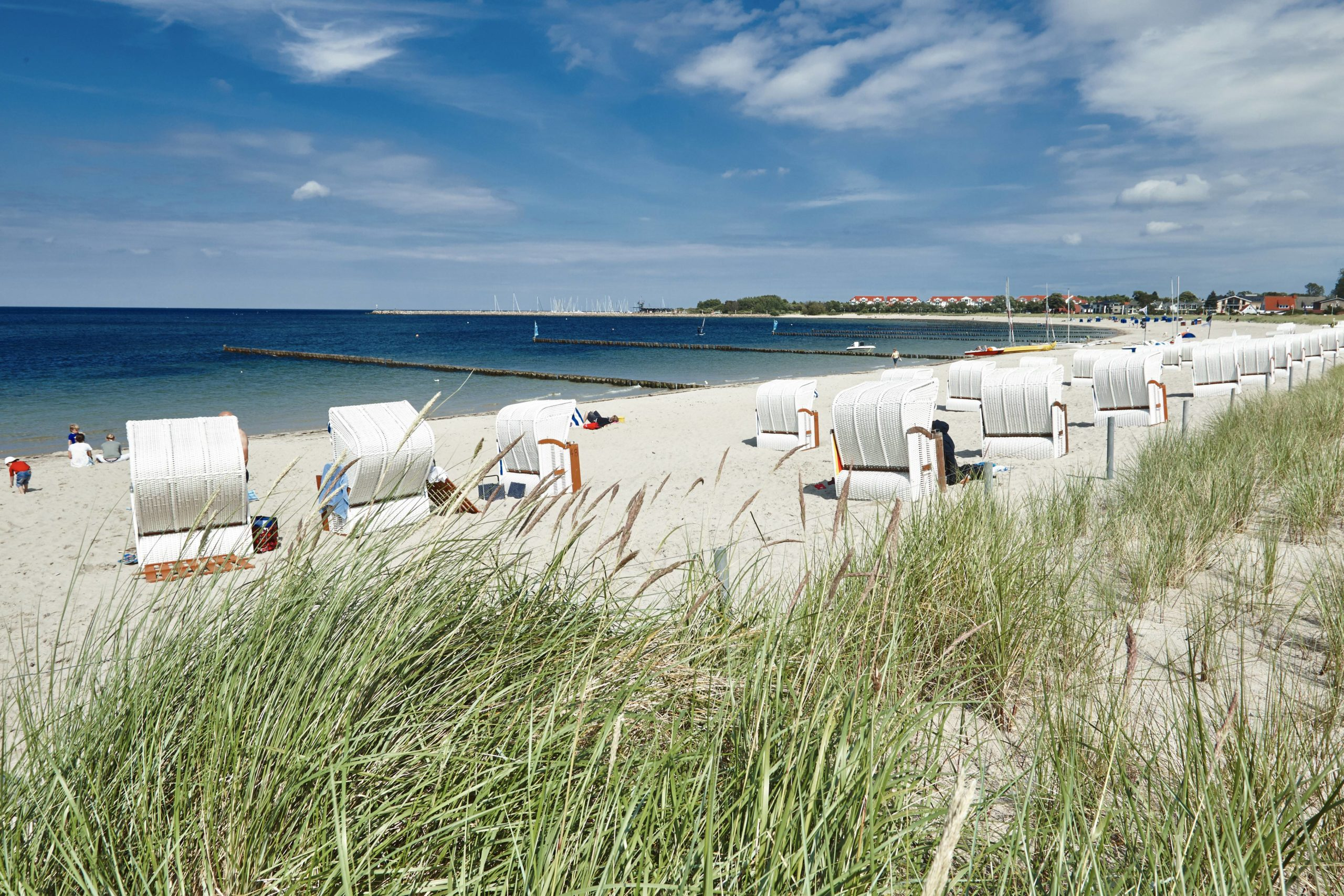Schönste Strände Ostsee Der Strand Schaabe ist ein schöner Strand auf Rügen, an dem man immer noch ein ruhiges Plätzchen findet.