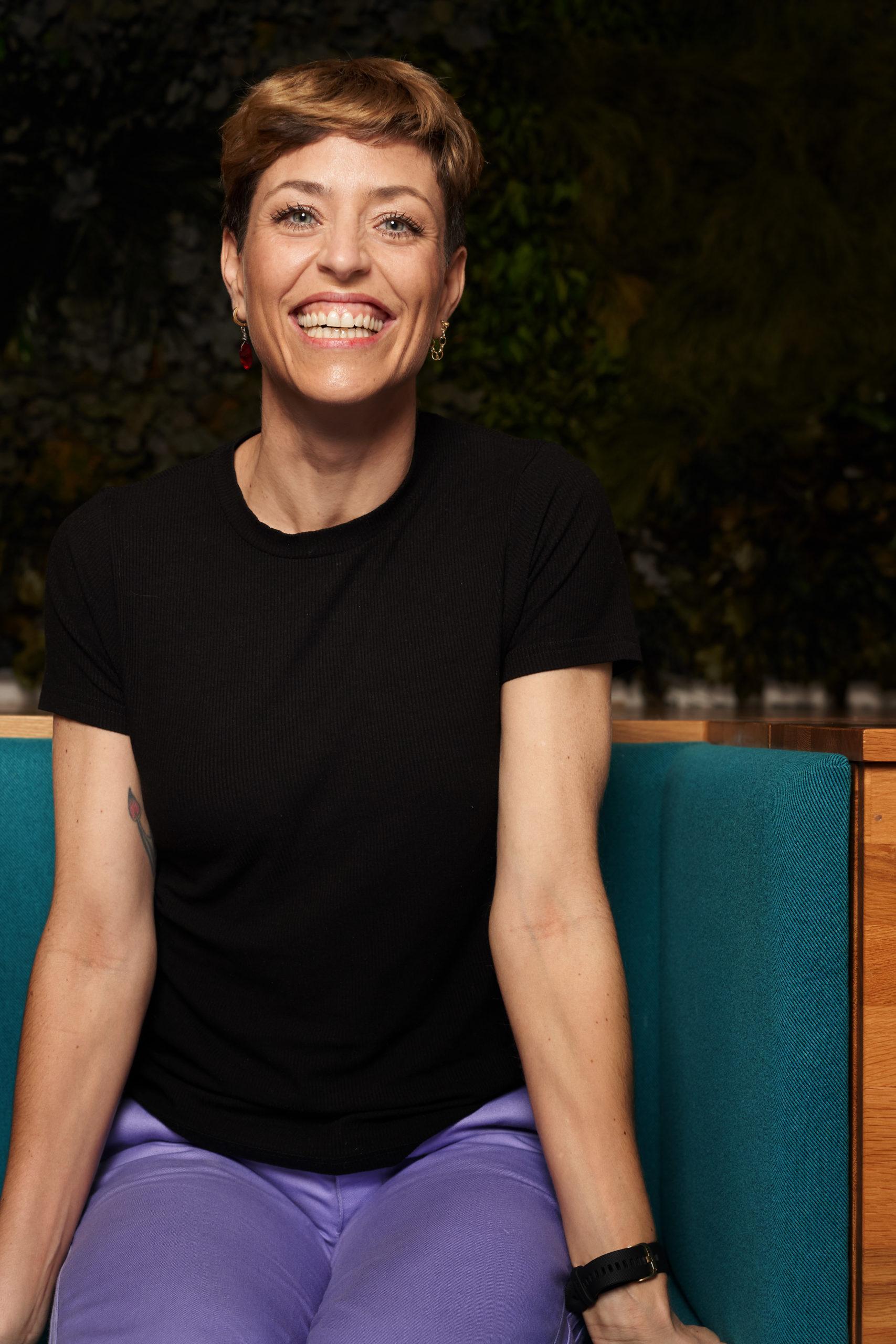The-Good-Run-Gründerin Katharina Hoffmann will sich nicht nur nach dem Laufen gut fühlen, sondern auch währenddessen und davor. Ihr Online-Shop führt daher Laufequipment für Empowerment und ein gutes Gewissen.