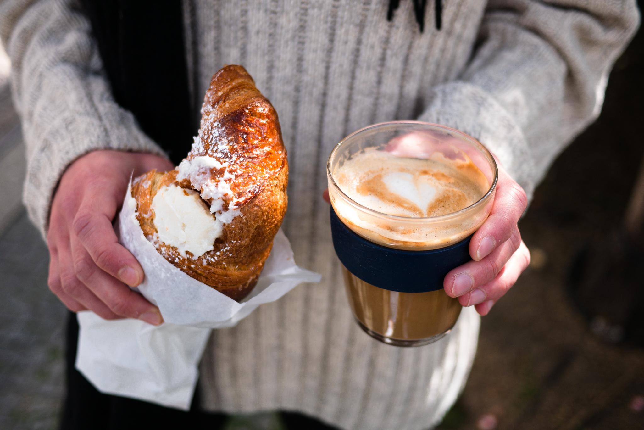 La Cicala Croissant Marianne Rennella italienisch frühstück