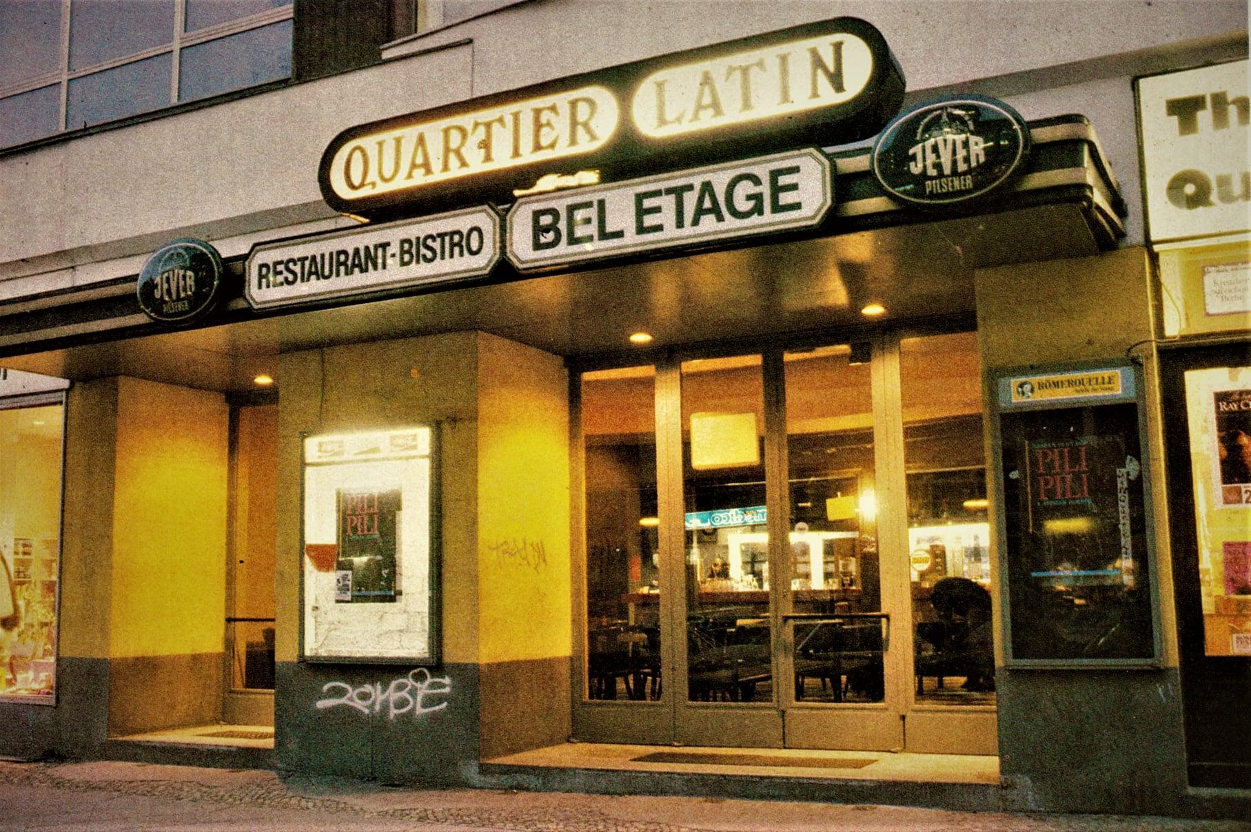 Das Quartier Latin war einer der wichtigsten Konzertorte in der Mauerstadt. Foto: Archiv Bernd Feuerhelm