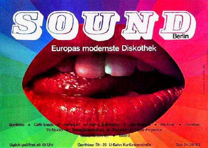 Das Sound: Legendäre Großraumdisco in der auch Christiane F. häufig Gast war. Foto: Archiv