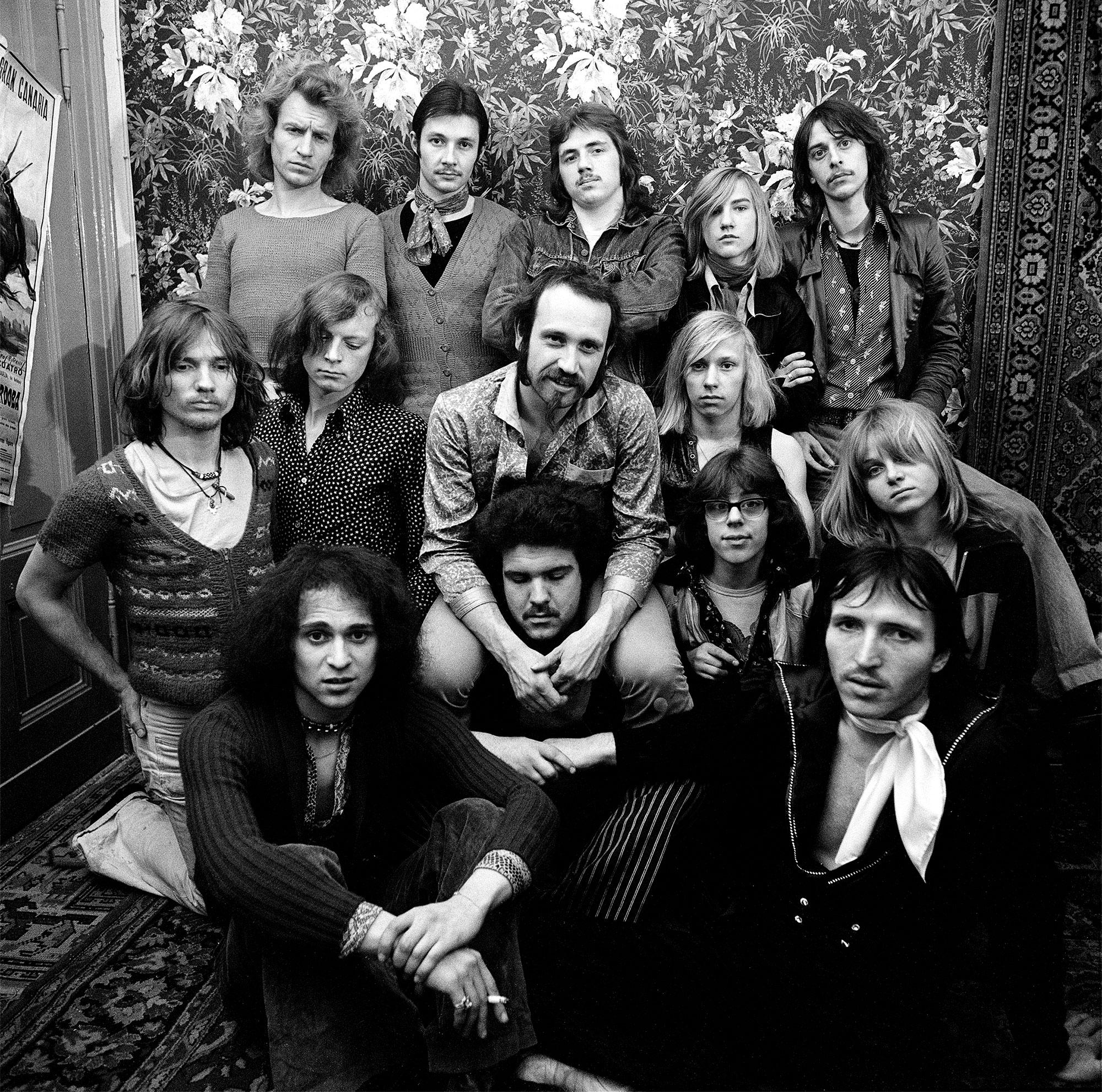 Berlin und Ton Steine Scherben: Die Ton Steine Scherben, 1970er-Jahre. Foto: Rita Kohmann