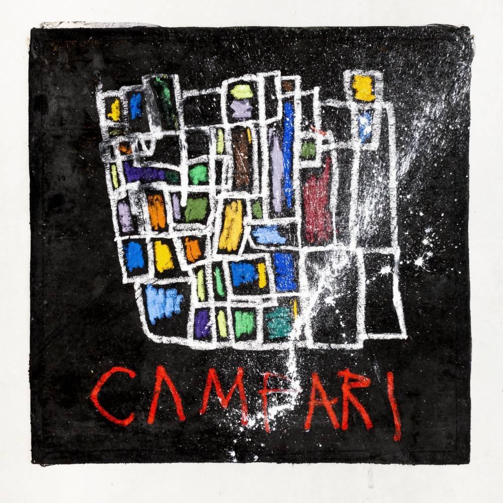 Noah Becker für Campari zur Verwendung als Teil der SecRED Gallery Merchandise-Kollektion. Foto: Campari