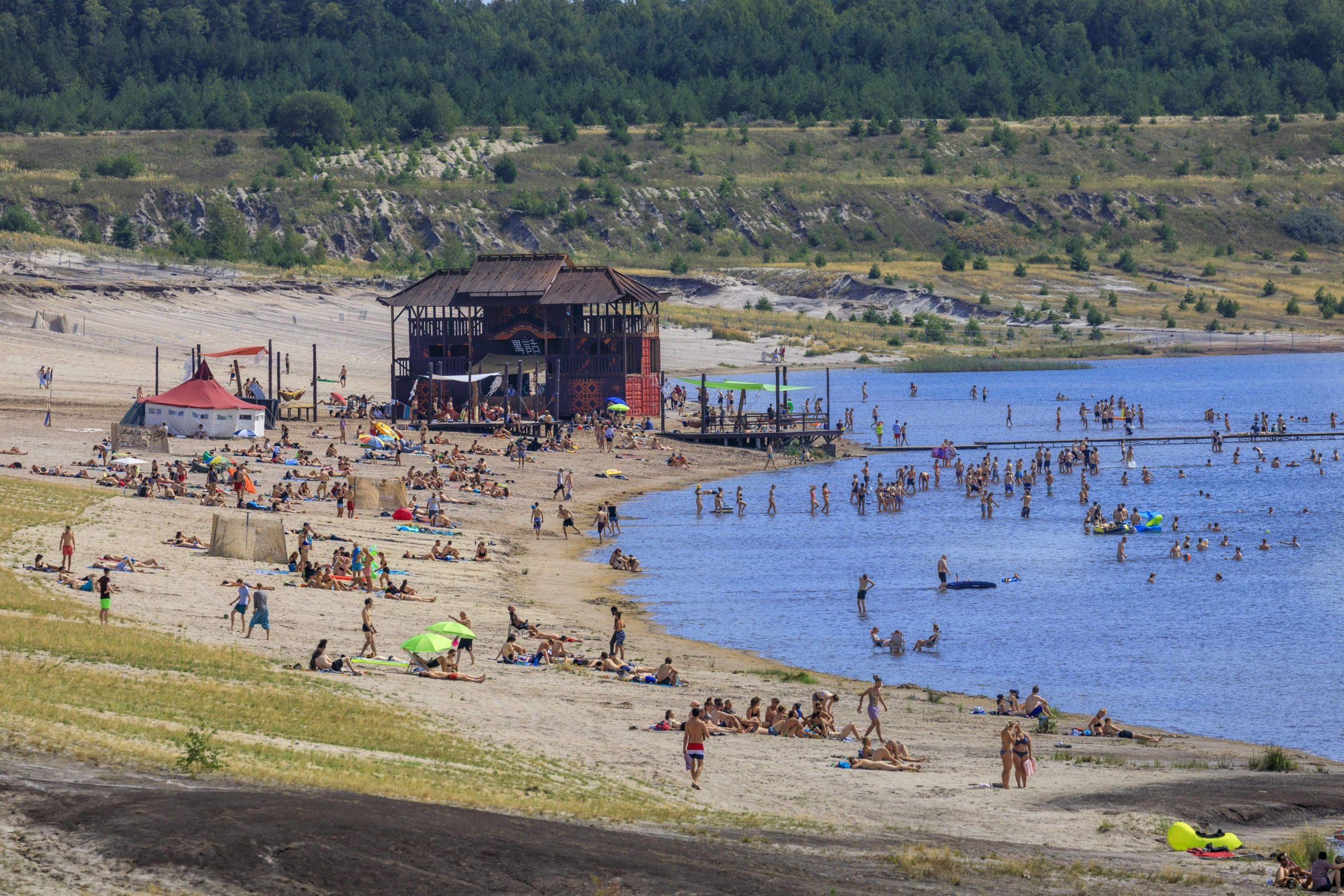 Am Bergheider See wird es dieses Jahr zwei Festivalwochenenden geben. Viele freuen sich auf das altbekannte Feel. Foto: Imago/Rainer Weisflog