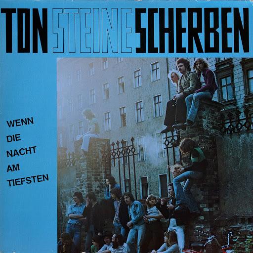 """Ton Steine Scherben """"Wenn die Nacht am tiefsten"""", Cover der Doppel-LP, 1975 (erschienen bei Volksmund)"""