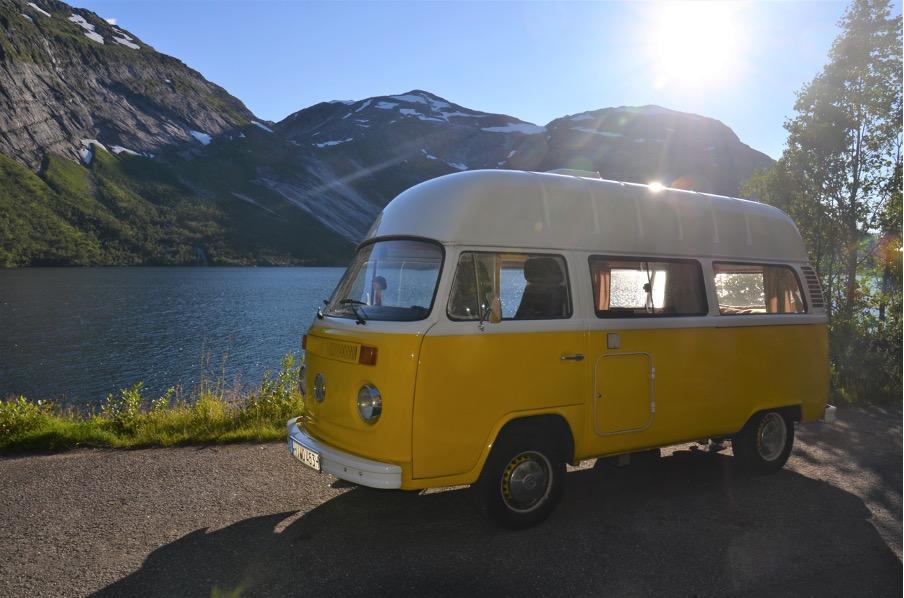 Der 4,5 Meter lange Campingbus fuhr bereits durch Australien und Europa. Foto: PaulCamper