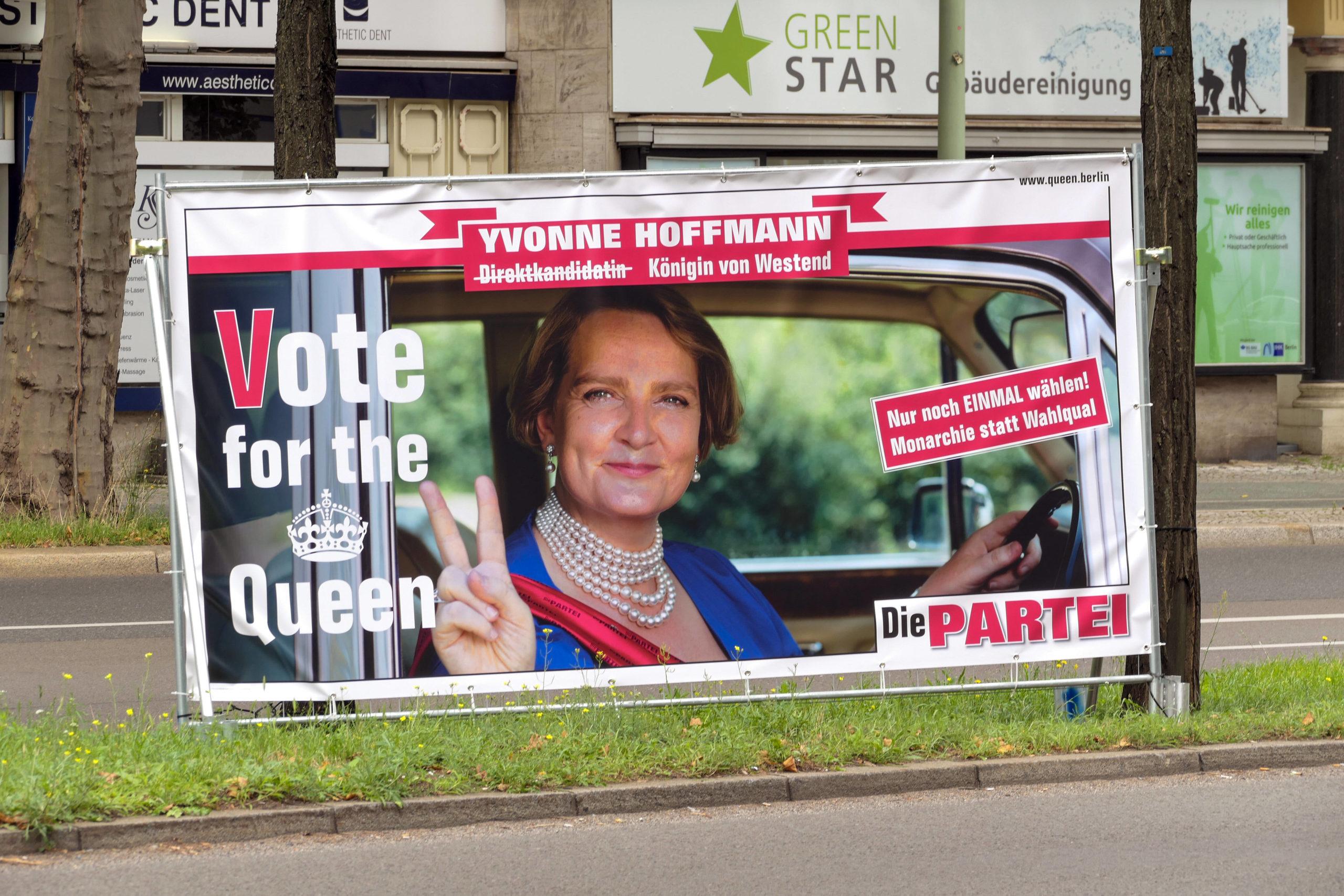 Berlins schönstes Wahlplakat: berlin