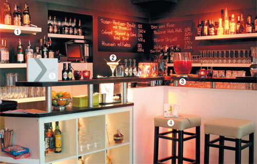 Die Anatomie einer Bar: Indeed-Bar - tip berlin