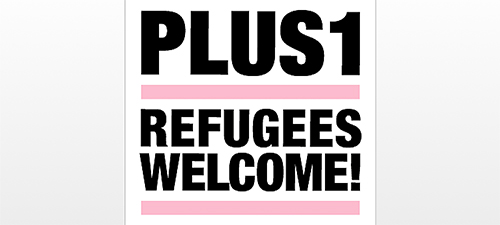 Plus1 – Refugees welcome!