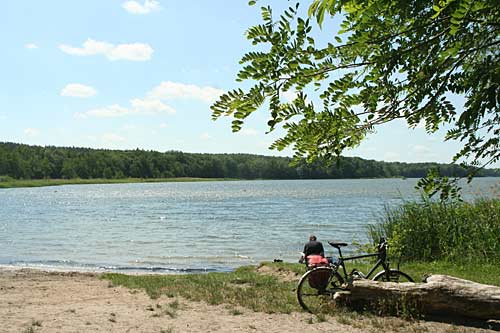 Badesee in Brandenburg - Sacrower See