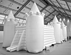 White_Bouncy_Castle